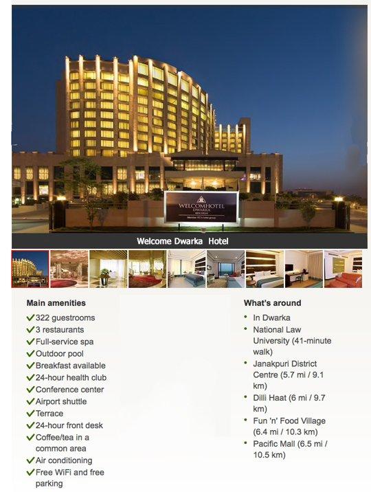 Welcome Hotel #singlestour